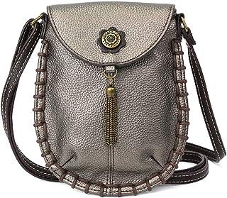 Chala 迷人斜挎手机钱包 - 女士 PU 皮革手提包,配有可调节肩带