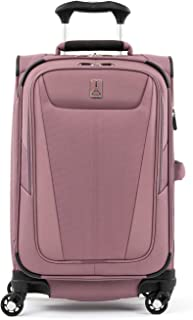 travelpro maxlite mls 5 6.75英寸可扩展 carry-on spinner suitcase Dusty Rose 均码