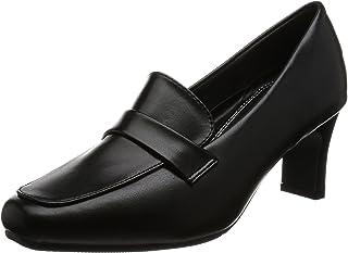 [罗密欧华伦天奴] 浅口鞋 方头 鞋跟6.5cm 足围3E PU皮革 VB3302