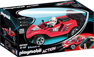 Playmobil 摩比世界 Action 9090 RC火箭赛车手,带蓝牙控制功能,适合6岁以上