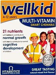 薇塔贝尔Wellkid Vitabiotics 儿童维生素营养多种维生素咀嚼片 - 30片