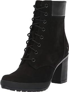 Timberland Camdale 6英寸女士时尚靴子 磨砂皮黑 9 M US