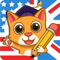 Fun English: 学英文很好玩- 3-10岁儿童美语和英语学习游戏、教英文单字、拼字、读、说、听、写、发音和录声音,还有日常英文、送两个免费课程。