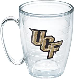 Tervis 1101890 Central Florida University Emblem Individual Mug, 16 oz, Clear