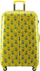 Delsey 法国大使 中性 神偷奶爸3 小黄人 拉杆箱 625 黄灰色 28英寸 万向轮 PC材质 TSA海关密码锁