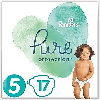 Pampers 帮宝适 Pure Protection 覆盖 多种颜色 Tragepack Gr. 5 17
