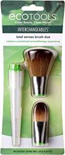 EcoTools Total Senses 粉底刷 Duo 可互换化妆刷 带芳香*,2 个刷子