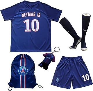 2019/2020 巴黎主场 #10 Neymar Jr.足球足球儿童球衣短裤袜套装青少年尺码