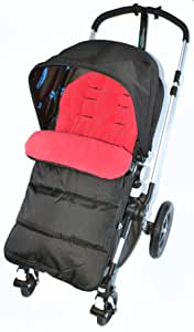 脚垫/脚趾可与 Bugaboo 推椅 火红色 兼容