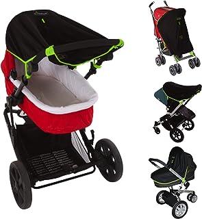 Snoozeshade Original Universal 婴儿推车遮阳网(抗99%紫外线)