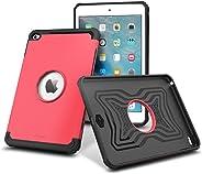 iPad Mini 4 Case, roocase [Exec Tough] Orb System iPad Mini 4 Slim Fit Case Hybrid PC/TPU [Corner Protection] Armor Cover Case for Apple iPad Mini 4 (2015) Coral Pink iPad Mini 4 (2015)
