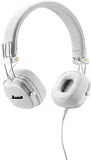 Marshall 马歇尔Major II头戴式耳机 白色(4091113)