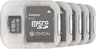 Centon Electronics 4 级,4GB Micro SDHC 卡 (S1-MSDHC4-4G5PK)