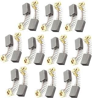 Uxcell 电钻电机碳刷,10 x 6 x 15mm,10 对