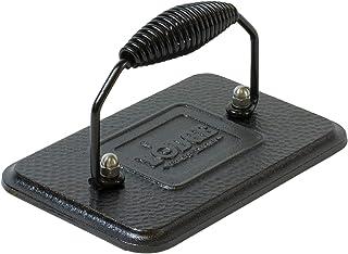Lodge 17.15 x 11.43 厘米 / 6.75 x 4.5 英寸 预处理铸铁矩形烧烤压机