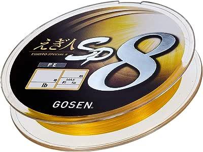 GOSEN 鱼线 PE 人SP 8刀片 200m 0.8号(16lb) GS82008