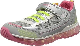 Geox 女童 J Android C 低帮运动鞋