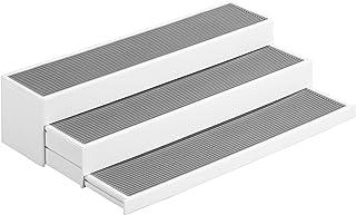 Wenko 3 Steps 厨房收纳盒,白色/灰色