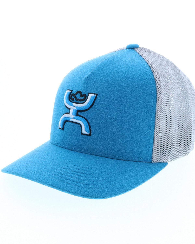 HOOeyロゴ柔軟ブルー/グレーハットブルー/グレーL / XL