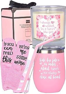 *好的朋友平底杯礼物,*好的朋友礼物,女士友谊礼物,*好的朋友不倒翁,朋友的生日礼物,长距离友谊礼物,女士,Besties