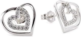 Myia Passiello R2757701_120 必备银色方晶锆石 4.741 克拉耳钉耳环