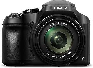 松下 DC-FZ82EB-K 60x 光学变焦 Lumix 数码相机 - 黑色DC-FZ82EB-K 相机 黑色