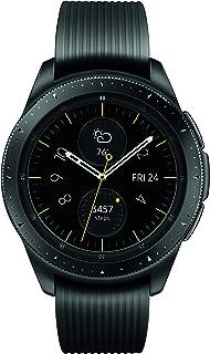 Samsung 三星 Galaxy 智能手表(42毫米,GPS,蓝牙) – 午夜黑(美国版)