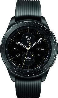 Samsung Galaxy 三星盖乐世手表(46 毫米)银色(蓝牙),SM-R800NZSAXARSM-R810NZKAXAR Midnight Black (42mm)