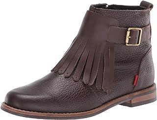 MARC JOSEPH 纽约儿童皮革巴西制造及踝靴 带短靴 细节切尔西