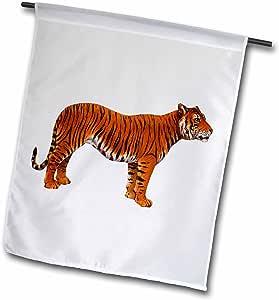 tnmpastperfect animals–孟加拉虎–旗帜 12 x 18 inch Garden Flag