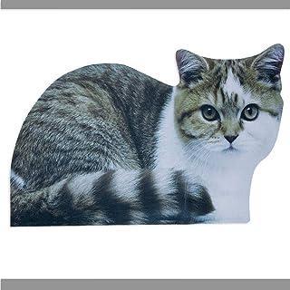 钻头与部件 - 灰色猫门垫入口垫 - 耐用聪明的门垫 欢迎家人和朋友 - 家居装饰