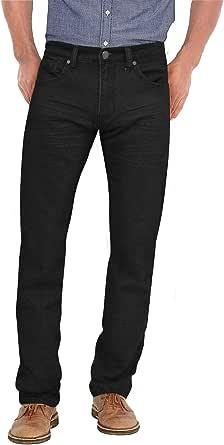 ETHANOL 男式超舒适修身弹力针织运动牛仔布五口袋牛仔裤