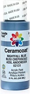 Delta Creative Ceramcoat Acrylic Paint in Assorted Colors (2 Ounce), 02131 Nightfall Blue