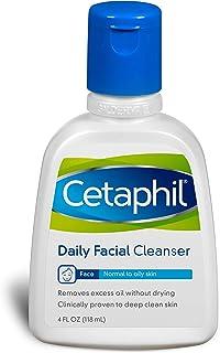 Cetaphil 日常洁面乳,适用于中性至油性皮肤,4 盎司(3 瓶装)