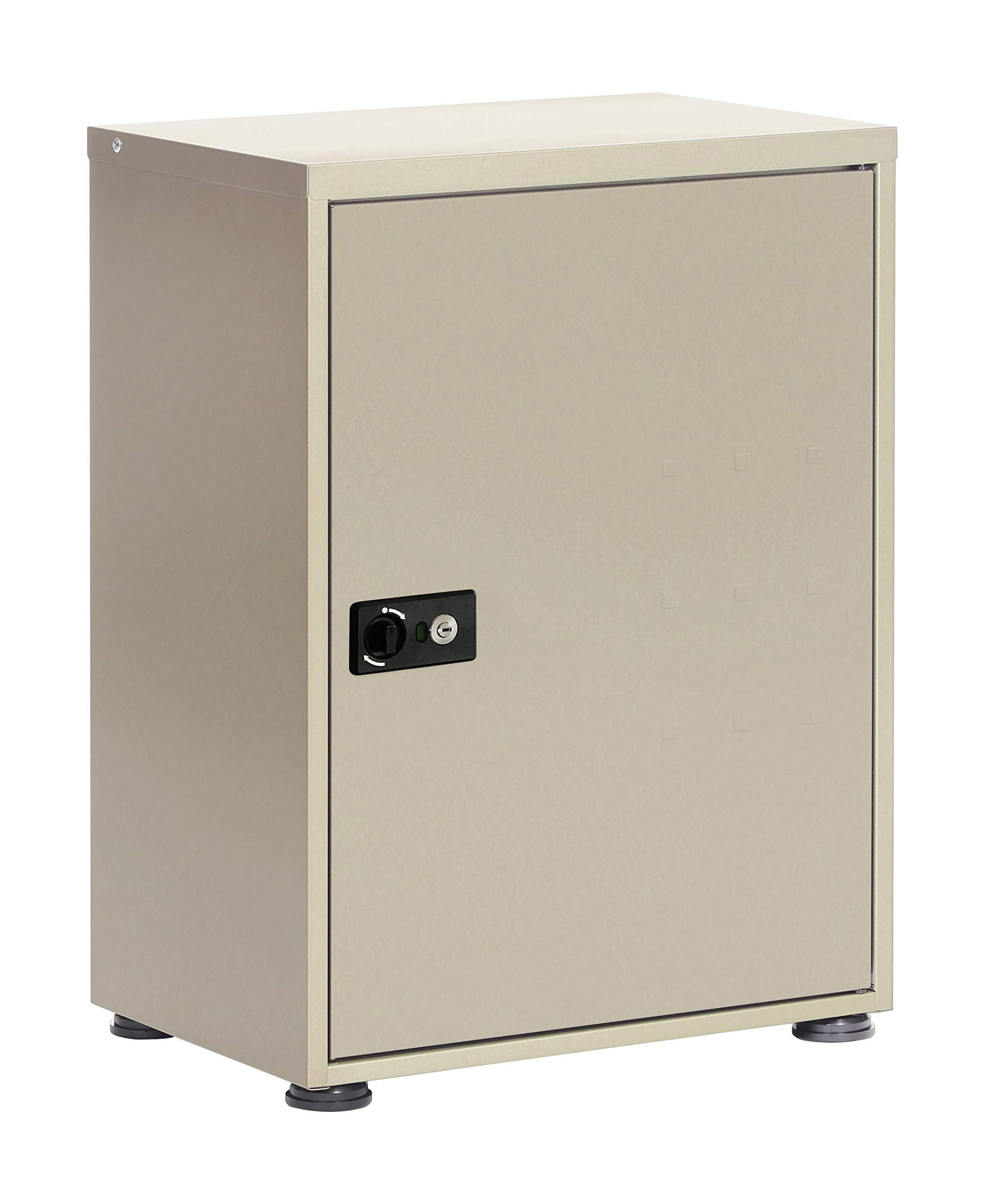 GREEN LIFE 快递箱 TR-3465J(TGY) 不在在不在时也能收到货物 倾斜 主体: 纵深35.5cm 本体: 高67cm 本体: 宽48cm