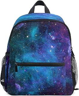 Galaxy 幼儿书包 - 星星书包 学生时尚中性书包 宇宙太空银河背包 适用于日托、学前和幼儿园