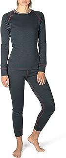 Gregster 女士滑雪内衣超保暖柔软内衬保暖内衣功能内衣