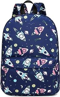 学龄前背包儿童书包 适用于小学学生的书包 E0058 Rocket Blue One_Size
