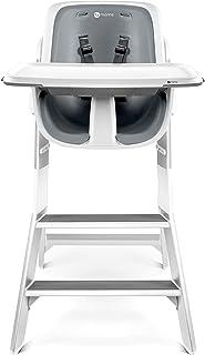 4moms 高椅高脚椅,白色-灰色