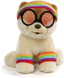 GUND World's Cutest Dog Boo 运动毛绒玩具,9 英寸玩具,多色