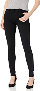 J Brand Jeans Women's Maria High Rise Skinny Seriously Black Seriously Black 28