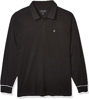 Brixton 男式 Carlos 量身定制长袖 Polo 针织衫