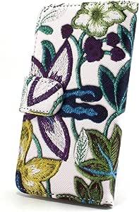 whitenuts 保护壳 手册式 【左撇子】 花朵刺绣印刷WN-OD322655 1_ iPhone6s Plus 紫色