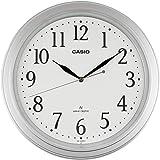 Casio 卡西欧 电波模拟 室内装饰时钟 白色 IQ-1005J-8JF