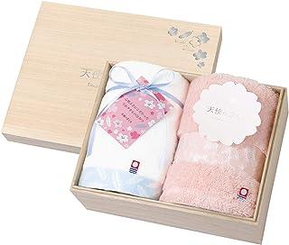 托库达毛巾礼盒套装 天使的樱花 今治 木箱装 天使のさくら1 今治 木箱入り 62020