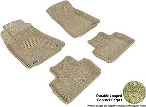 3D MAXpider 套装定制脚垫 适用于精选雷克萨斯车型 - 经典地毯 棕褐色 L1LX00602202