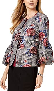 Alfani 女式印花金属外套