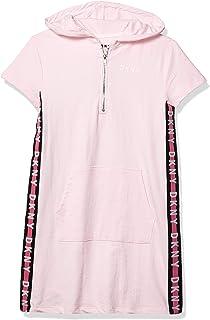 DKNY 女童 T 恤连衣裙
