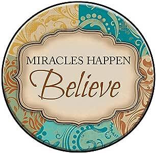 CB 礼品简约桌面牌匾 Miracles Happen WS118