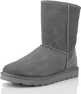 WaySoft 正品澳大利亚羊皮雪地靴女式经典防水羊皮靴